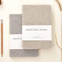 2015 Linen fabric cover dated journal