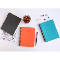 2015 Mon cahier wirebound undated weekly planner
