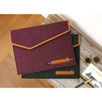 The Basic felt laptop pouch case 15 inch ver.3