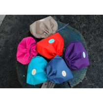 The secret of happiness drawstring pouch