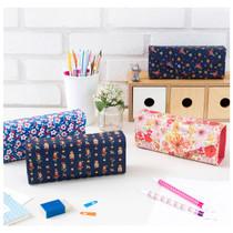 Pattern square pencil case box