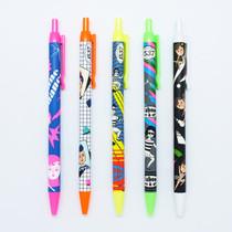 Fluorescence highlighter ballpoint pen 0.7mm
