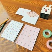 Odong et valerie mini letter paper set