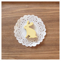 Handmade animal magnet - rabbit