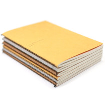 Natural and Pure A6 lined and plain notebook