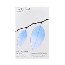 Birch leaf transparent sticky memo notes Medium