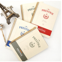 prestige perforated lined notebook