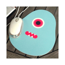 Egg monster mouse pad