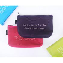 Life is beautiful travel mesh pouch