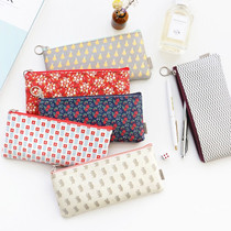Unique pattern zipper pen case pouch