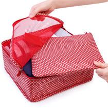 Pattern travel clothes mesh bag packing aids - Medium