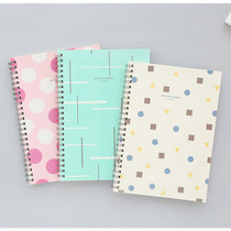 Mon petit bureau wirebound lined notebook