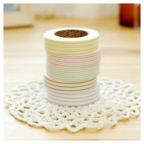 5 different colors of Fabric tape
