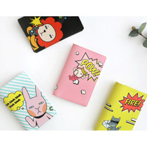 Hellogeeks Pop art RFID blocking passport cover