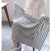Second mansion stripe pattern blanket