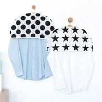 Scandic pattern half clothes suit garment storage bag