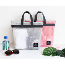 Travel mesh tote bag pouch ver.2