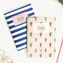 Iconic monthly planner A6 size ver.2