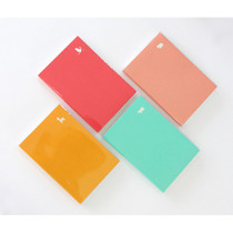 Yellow, Hot pink, Mint, Light pink