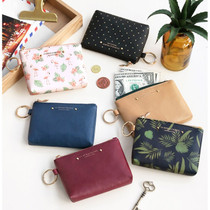Pochette coin card zipper wallet