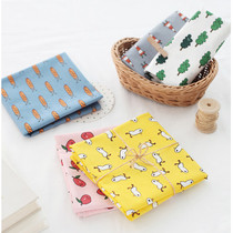 Jam Jam pattern cotton handkerchief