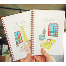 Life goes on with Narm wirebound notebook