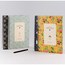 Wirebound spring lined notebook Large