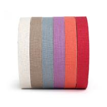 bio washing linen cotton fabric tape