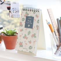 Wirebound pattern To do list desk notepad