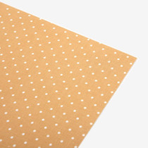 Fabric sticker 1 sheet A4 size - Yellow dot