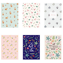 illustration pattern letter paper and envelope set