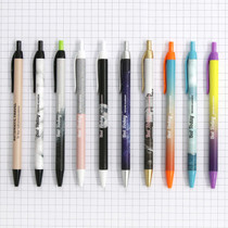 black ballpoint pen 0.38mm