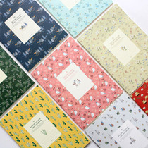 Willow pattern classic free lined notebook