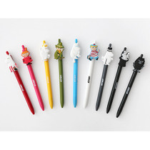 Moomin black gel pen 0.4mm