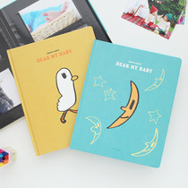 Cute illustration self adhesive photo album