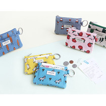 Jam Jam pattern card holder with key ring