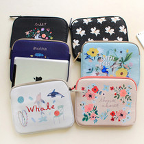 Rim pattern iPad multi pouch