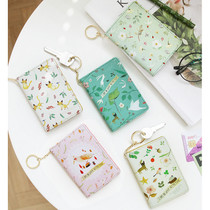 Willow story pattern snap button card case