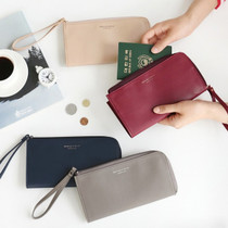 Walking in the air passport organizer wallet