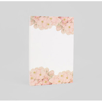 Romantic and Vintage hydrangea letter paper pad
