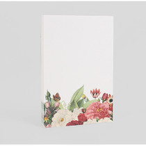 flower garden letter paper pad