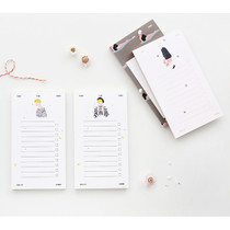 Mon petit checklist memo pad