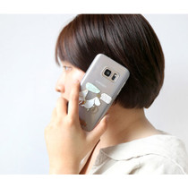 Moomin TPU clear soft case for Galaxy S7