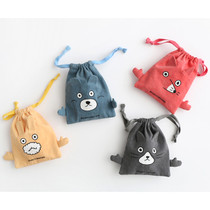 Brunch brother drawstring small pouch