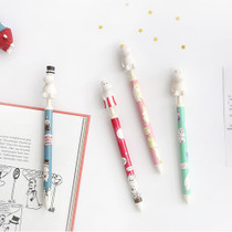 Moomin figure 0.5mm black ballpoint pen