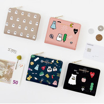 Ghost pop slim bifold wallet