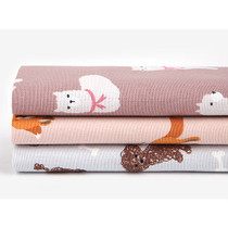 Quarter  fabric pack of 3 oxford cotton - Animal 1