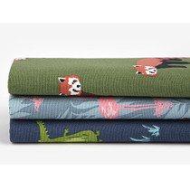 Quarter  fabric pack of 3 oxford cotton - Animal 2