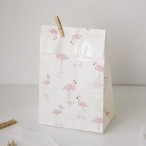 Flamingo - Animal pattern gift paper bag set