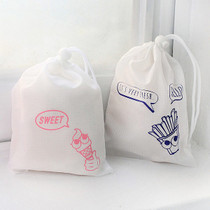 Hello sweet drawstring small pouch